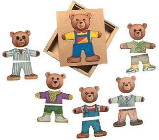 Schylling Ernest Moody Bear Puzzle