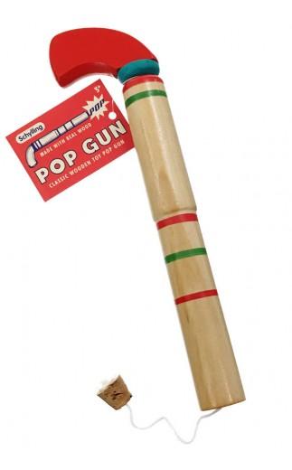 Schylling Wooden Pop Gun