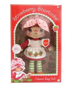 Strawberry Shortcake Retro Soft Rag Doll Box