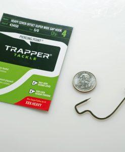 TRAPPER HEAVY COVER OFFSET SUPER WIDE GAP HOOK 5