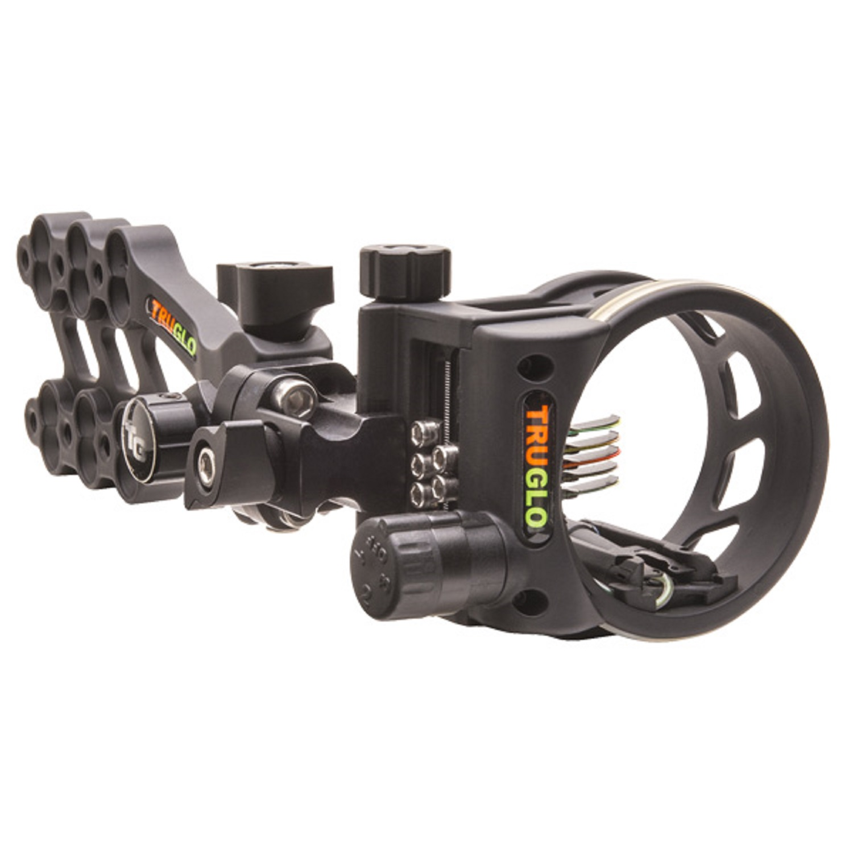 TruGlo Hyper-Strike 5 Pin DDP Sight Light Black