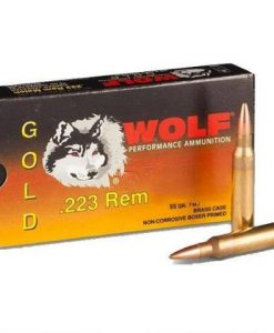 Wolf Gold .223 55gr FMJ 20 Rounds