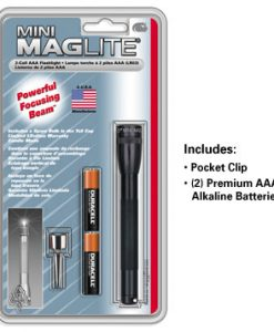 MINI-MAG AAA BLACK FLASHLIGHT MAGLITE