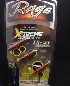 Rage X-Treme Crossbow 100 Gr. 2-Blade Broadhead