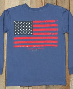 Southern Marsh Youth Vintage Flag - Long Sleeve