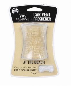 WoodWick Car Vent Freshener - At The Beach