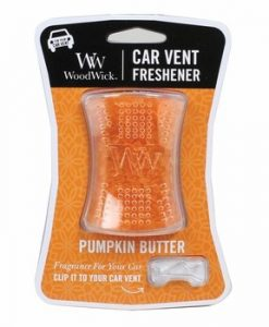 WoodWick Car Vent Freshener - Pumpkin Butter