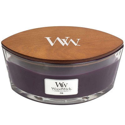 WoodWick HearthWick Candle - Fig