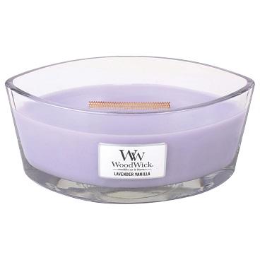 WoodWick HearthWick Candle - Lavender Vanilla