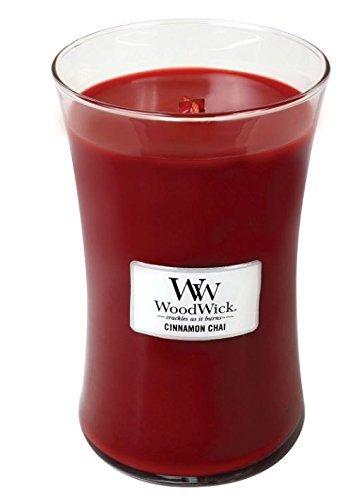 WoodWick Large Jar Candle - Cinnamon Chai