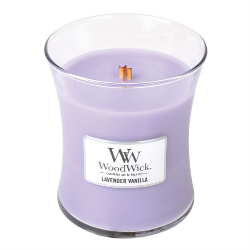 WoodWick Medium Jar Candle - Lavender Vanilla