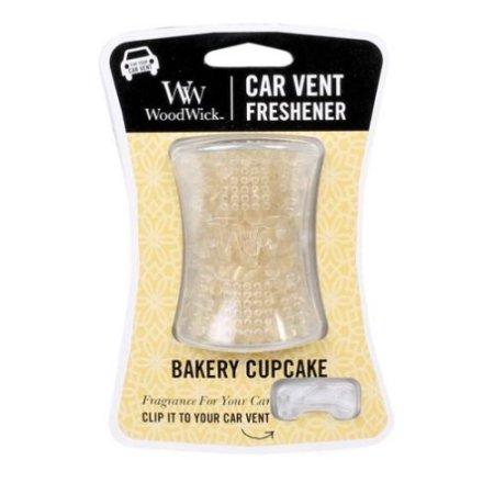 Woodwick Car Vent Freshener - Bakery Cupcake