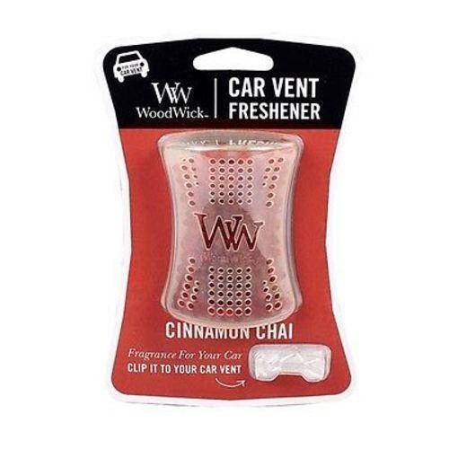 Woodwick Car Vent Freshener - Cinnamon Chai