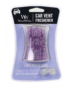 Woodwick Car Vent Freshner - Lavender Spa