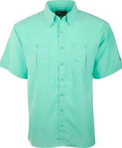 Drake Men's Flyweight Shirt W/ Vented Back Short Sleeve
