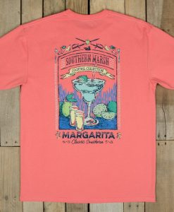 Southern Marsh Cocktail Collection Tee - Margarita