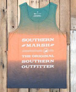 Southern Marsh Summer Sun Tank