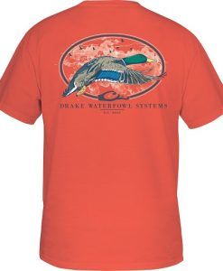 Drake Men's Oval Flying Drake Short Sleeve T-Shirt