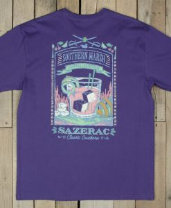 Southern Marsh Cocktail Collection Tee - Sazerac Cocktail