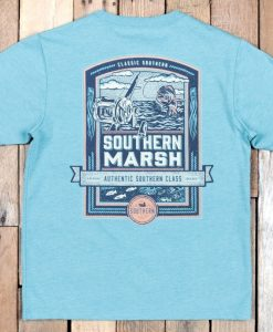 Southern Marsh Youth Genuine T-Shirt - Offshore