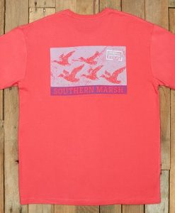 Southern Marsh Flying Vee Tee