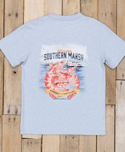 Southern Marsh Youth Festival Series Tee - Shrimp