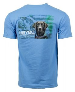 Heybo Men's Choco Flag Short Sleeve T-Shirt