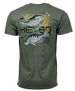 Heybo Men's Crappie Short Sleeve Tee Shirt