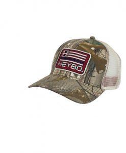 Heybo USA Flag Trucker Meshback