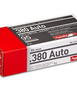 Aguila .380 Auto FMJ / Full Metal Jacket