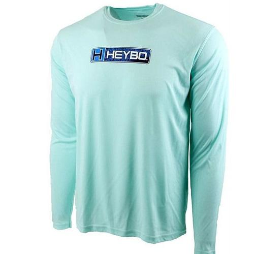 Heybo Blue Ocean Logo Performance Shirt