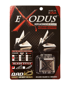 Quality Archery Designs Exodus Replacement Blades