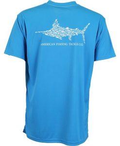Aftco Men's JigfishShort Sleeve Fishing Sun Shirt