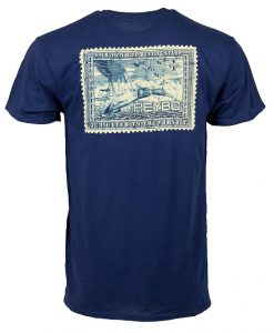 Heybo Men's Duck Stamp Short Sleeve T-Shirt