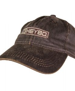 Heybo Pro Logo Hat - Waxed Brown