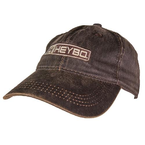 Heybo Pro Logo Hat - Waxed Brown