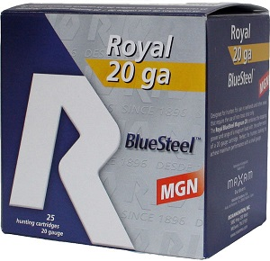 "Rio Royal Blue Steel 20 ga 3"" MAX 1 oz #3 1400 Fps"
