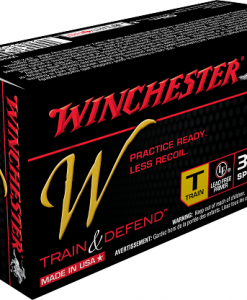 Winchester Train & Defend 38 Special, 130 Gr.