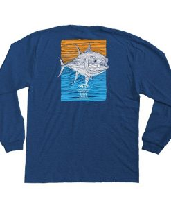 Aftco Youth Tuna Roll Long Sleeve T-Shirt
