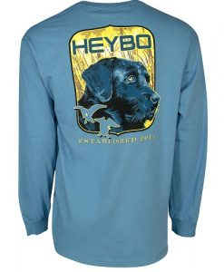 Heybo Men's Ol' Blue Long Sleeve Tee