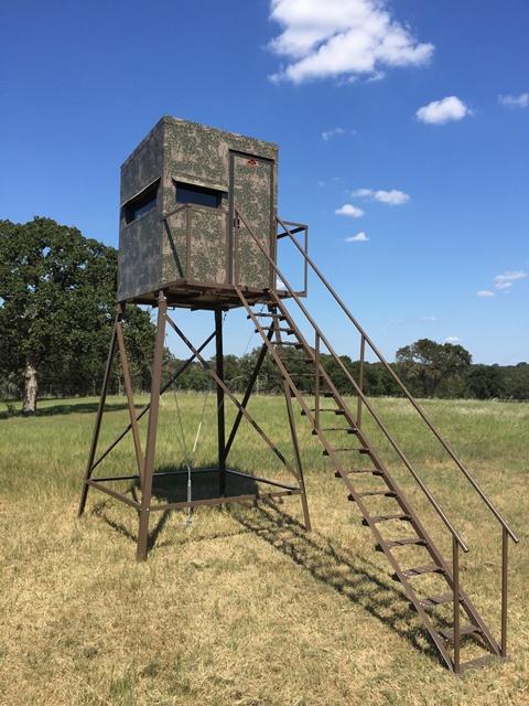 Atascosa 5x5 Deer Blind 10 Tower Safford Trading Company