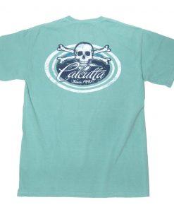Calcutta Ladies Oval Skull Short Sleeve T-Shirt