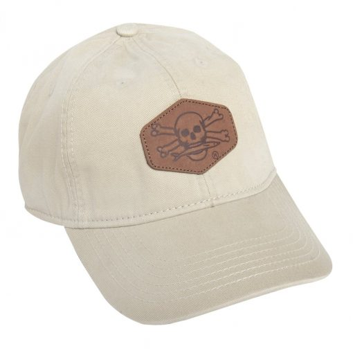 Calcutta Twill Cap with Hex Leather Patch
