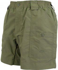 Aftco Men's Original Fishing Shorts - Safari
