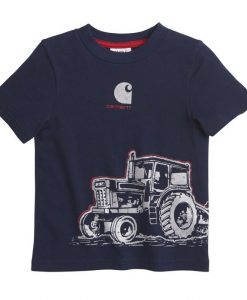 Carhartt Boys' Tractor Wrap Tee # CA8947
