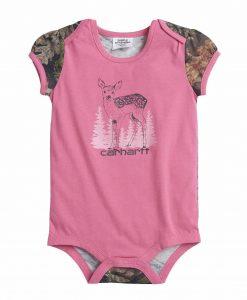 Carhartt Girls' Baby Fawn Bodyshirt