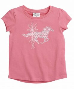 Carhartt Girls' Toddler Aztec Horse Tee