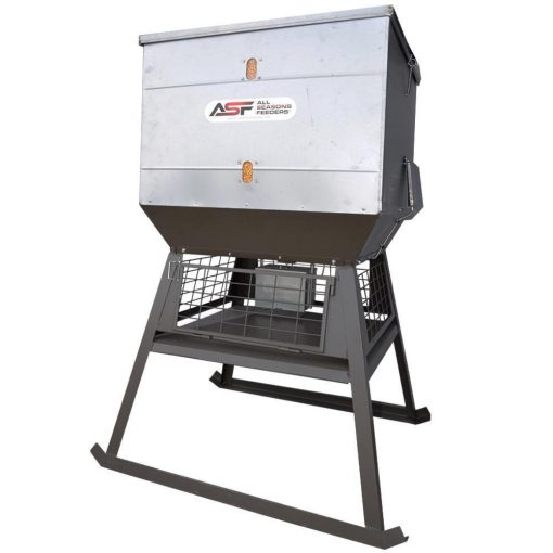All Seasons 1,000LB Stand & Fill Broadcast Feeder