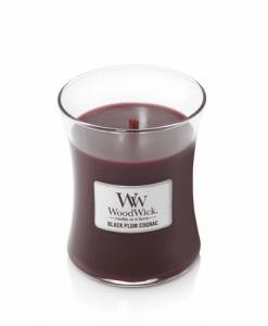 Black Plum Cognac WoodWick Candle 10 oz.