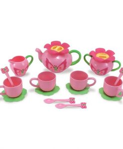 Melissa & Doug Bella Butterfly Pretend Play Tea Set